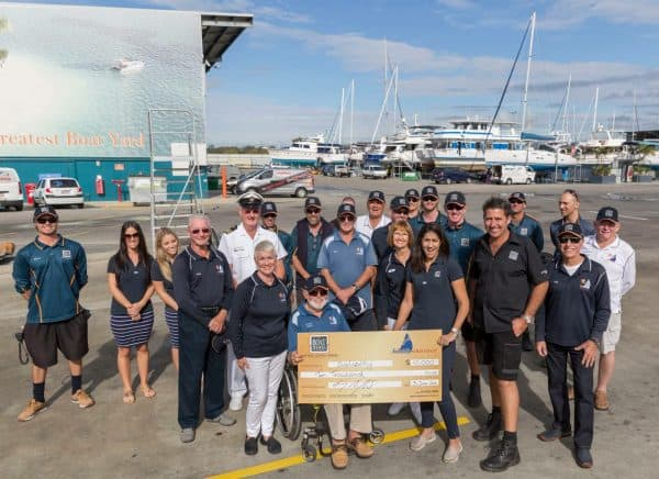 2016 donation from the Shipyard Crew to Sailability GC