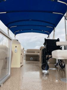 Sailability pontoon interior