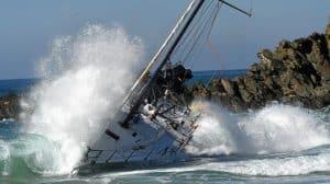 Bumbelbee V yacht run around off Byron Bay